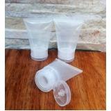 bisnaga de plástico cilíndrica