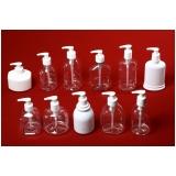 frasco para sabonete líquido plástico valor Cubatão