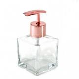 frasco de vidro sabonete líquido
