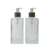 frasco para sabonete líquido de vidro