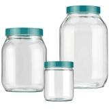 onde encontrar pote de vidro com vedação Araçoiabinha