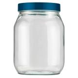 pote de vidro com tampa redondo orçamento inajar de souza