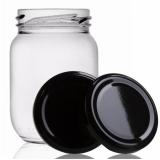 pote de vidro para palmito Guararema