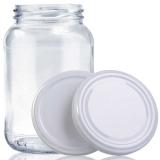 pote de vidro para conserva