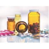 pote para cápsulas de medicamentos Araçatuba