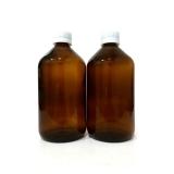 venda de garrafa de vidro âmbar Freguesia do Ó
